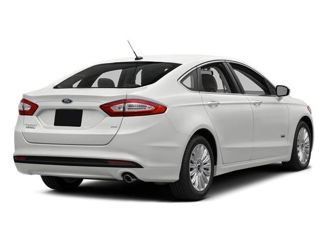 2014 Ford Fusion Energi Se Luxury In Yarmouth Me Portland Ford